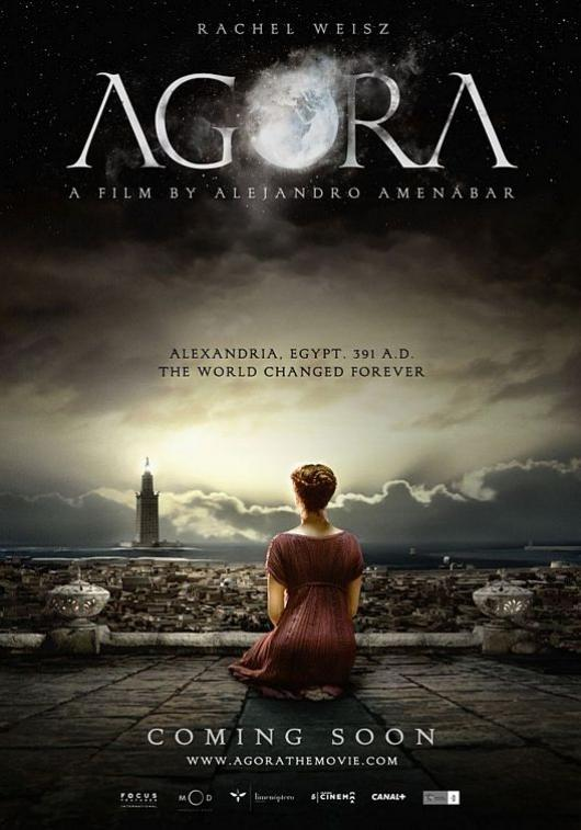 Woman Philosopher Hypatia's Life in Agora Film