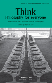 THINK-Philosophy for Everyone